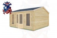 Log Cabins Sullington 4.5m x 4.5m -2077 2