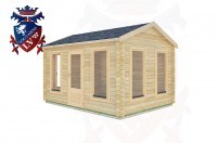 Log Cabins Five Oaks 4.0m x3.0m -2060 2