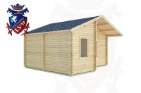 Log Cabins Durleighmarsh 5.0m x 4.0m -2104 2