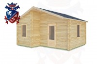 Log Cabins Durleighmarsh 5.0m x 4.0m -2104 3