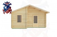 Log Cabins Durleighmarsh 5.0m x 4.0m -2104 1