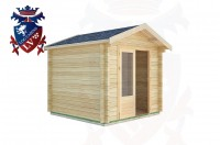 Log Cabins Bepton 2.5m x 2.5m -2012  2