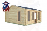 Log Cabins West Lavington 4.5m x 5.5m -2078 3
