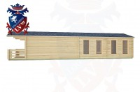 Log Cabins Stedham 11.5m x 4.0m -2044 2
