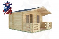 Log Cabins Lindfield 4.0m x 3.0m -2045 3