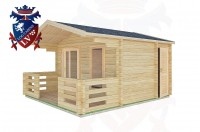 Log Cabins Lindfield 4.0m x 3.0m -2045 2