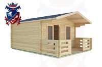 Log Cabins Eartham 4.0m x4.0m -2046 2