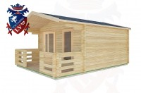 Log Cabins Eartham 4.0m x4.0m -2046 3