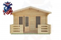 Log Cabins Eartham 4.0m x4.0m -2046 1