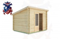 Log Cabins Ashurst Wood 3.0m x 2.5m -2034 3