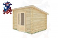 Log Cabins Ashurst Wood 3.0m x 2.5m -2034 2