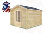 Log Cabins Burpham 3.0m x 3.0m -2030 3