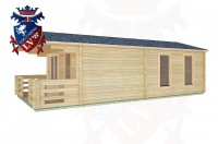 Log Cabins Newtimber 4.0m x7.0m -2048 2
