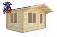 Log Cabins Coolham 4.0m x 3.0m -2066 3