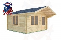Log Cabins Henfield 4.0m x 4.0m -2067 2