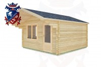 Log Cabins Henfield 4.0m x 4.0m -2067 3