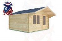 Log Cabins Pease Pottage 4.0m x 4.0m -2069 3