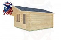 Log Cabins Pease Pottage 4.0m x 4.0m -2069 2