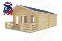 Log Cabins East Wittering 5.0m x 7.0m -2095 3