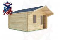 Log Cabins Aldwick 4.0m x 4.0m -2071 2