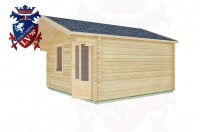 Log Cabins Aldwick 4.0m x 4.0m -2071 3
