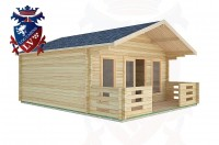 Log Cabins Cootham 5.0m x 5.0m -2094  3