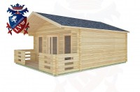 Log Cabins Cootham 5.0m x 5.0m -2094  2