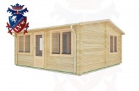 Log Cabins Apuldram 5.5m x 4.0m -2111 3