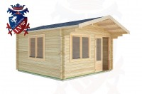 Log Cabins Chidham 4.0m x 4.0m -2064 3