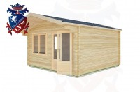 Log Cabins Chidham 4.0m x 4.0m -2064 2