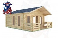 Log Cabins South Stoke 5.0m x 5.0m -2083 3