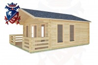 Log Cabins South Stoke 5.0m x 5.0m -2083 2