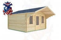 Log Cabins Foul Mile 4.0m x 4.0m -2073 2