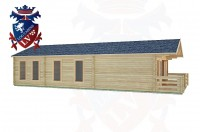 Log Cabins Upwaltham 11.0m x 5.0m -2084 2