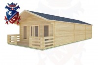Log Cabins Upwaltham 11.0m x 5.0m -2084 3