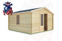 Log Cabins Bignor 4.0m x3.0m -2053 3