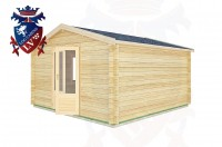 Log Cabins Bignor 4.0m x3.0m -2053 2
