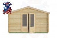 Log Cabins Bignor 4.0m x3.0m -2053 1