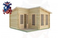 Log Cabins East Preston 4.0m x4.0m -2054 3
