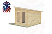 Log Cabins East Preston 4.0m x4.0m -2054 2