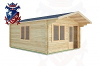 Log Cabins Boxgrove 4.0m x 3.0m -2062 3