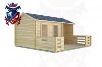 Log Cabins Hurstpierpoint 5.0m x 3.0m -2091 2