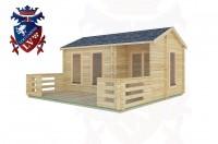 Log Cabins Hurstpierpoint 5.0m x 3.0m -2091 3