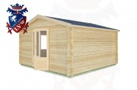 Log Cabins Midhurst 4.0m x4.0m -2059 3