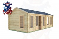 Log Cabins Ferring 7.7m x 3.5m -2124 2