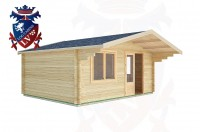 Log Cabins Bramber 5.0m x 4.0m -2108  2