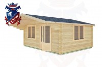 Log Cabins Bramber 5.0m x 4.0m -2108  3