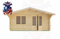 Log Cabins Bramber 5.0m x 4.0m -2108  1