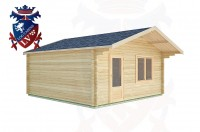 Log Cabins East Lavington 5.0m x 5.0m -2106 2