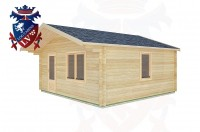 Log Cabins East Lavington 5.0m x 5.0m -2106 3
